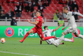 Спартак 0:1 Легия