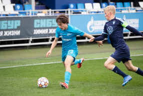 Юношеская лига УЕФА. Зенит 3:2 Мальмё
