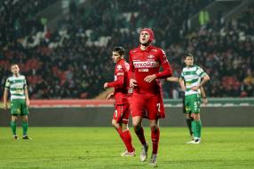 Ахмат 0:1 Спартак