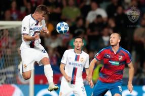 Виктория Пльзень 2:2 ЦСКА