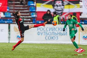 Томь - Спартак 0:1