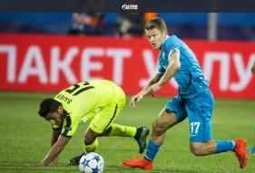 Лига Чемпионов. Зенит - Гент 2:1