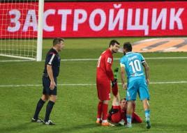 Зенит 0:0 Мордовия