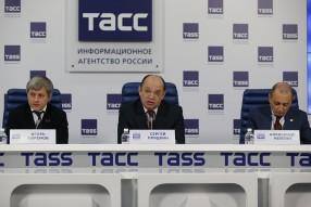 Пресс конференция РФПЛ , ФНЛ , ПФЛ в ИТАР - ТАСС