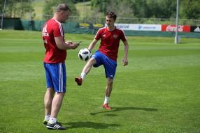 28/05/2018 - Тренировка сборной России