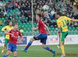 Кубань - ЦСКА 0:4