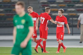 Спартак - Жилина 5-1