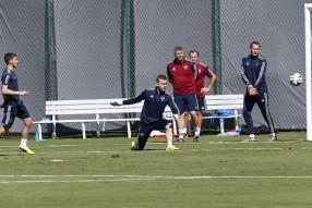 Тренировка сборной 11.06.2014
