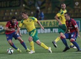 Кубань 0:1 ПФК ЦСКА