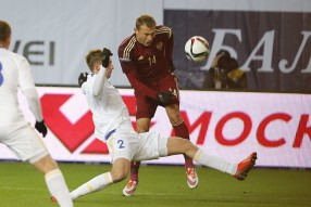 Россия - Казахстан 0-0