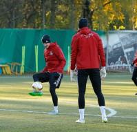 Тренировка «Локомотив» перед матчем с «Бешикташем»