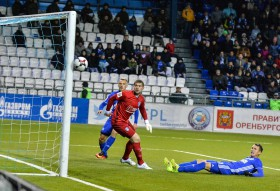 Оренбург - Томь 3:1
