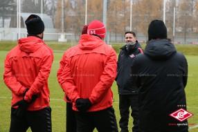 Тренировка «Спартака» в Тарасовке