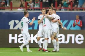 Локомотив 2:1 Анжи