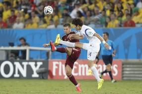 Россия - Корея 1-1