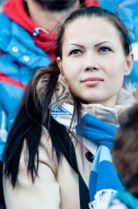 Болельщицы клубов Премьер-лиги