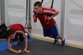25/05/2018 - Тренировка Сборной России
