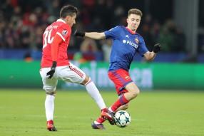 ЦСКА - Бенфика 2-0