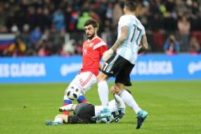 Россия - Аргентина 0-1