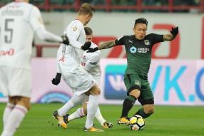 Локомотив 2:0 Краснодар