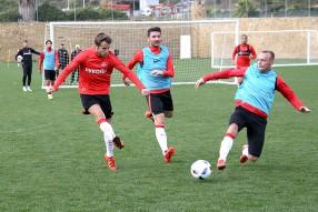 Тренировка ФК Спартак Москва в Испании