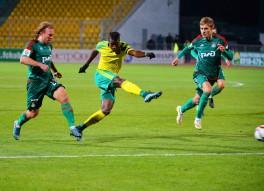 Кубань 6:2 Локомотив