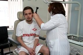 """Медицинское обследование ФК """"Спартак"""" Мо ..."""