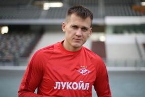 Тренировка ФК Спартак Москва на сборах в ОАЭ