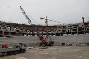 """Строительство стадиона """"Краснодар"""""""