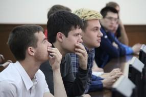 Руководство РФПЛ провело встречу со студентами Куб ...