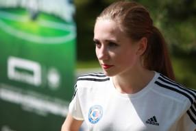 Мисс Премьер-Лига 2015. Разминка с Каролиной Севас ...