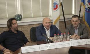 Александр Мостовой, Сергей Чебан и Александр Егоров