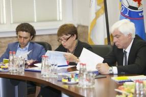 Роман Бабаев, Ольга Смородская и Владимир Хашиг
