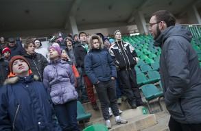 """Лига добрых сердец на матче """"Локомотив""""  ..."""