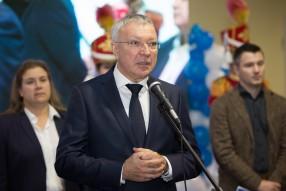 Открытие XV Международной выставки «Футбол Маркет» ...
