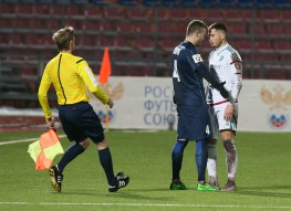 Мордовия 0:0 Терек
