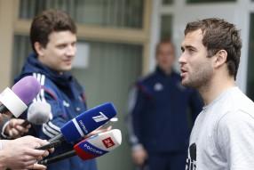 Тренировка сборной России 05.06.2015