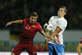 Россия - Португалия 1-0