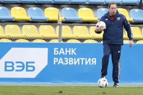 Тренировка сборной России 16.11.2015
