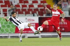 Спартак - АЕК 0-1