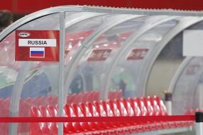 Предыгровая тренировка сборной России 14.11.2014