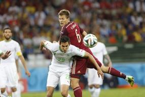 Алжир - Россия 1-1