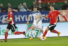 Австрия - Россия 1-0