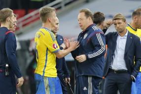 Россия - Швеция 1-0. Матч отборочного турнира ЧЕ-2 ...