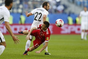Россия - Новая Зеландия 2-0