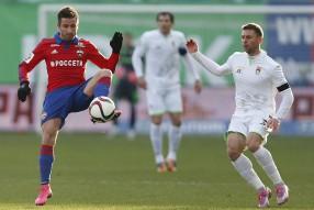 ЦСКА - Уфа 2-0