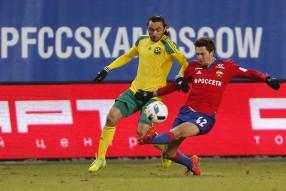 ПФК ЦСКА 2:0 Кубань