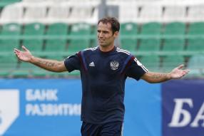 Тренировка сборной России 11.06.2015