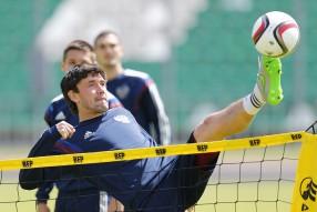 Тренировка сборной России 12.06.2015