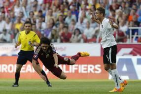 Россия - Австрия 0-1